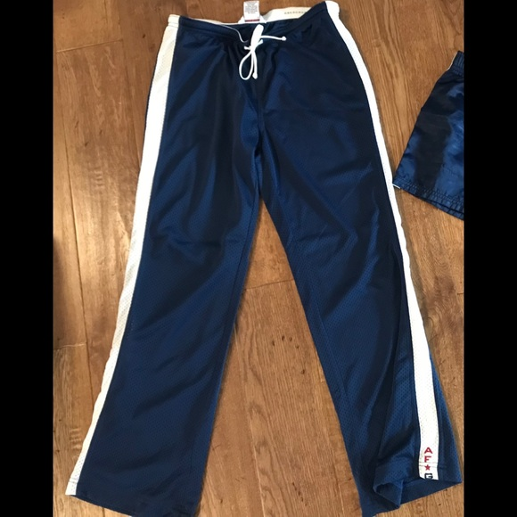 Abercrombie   Fitch Pants - Abercrombie   Fitch Gym Issue Womens track ... 63c4dd661b8